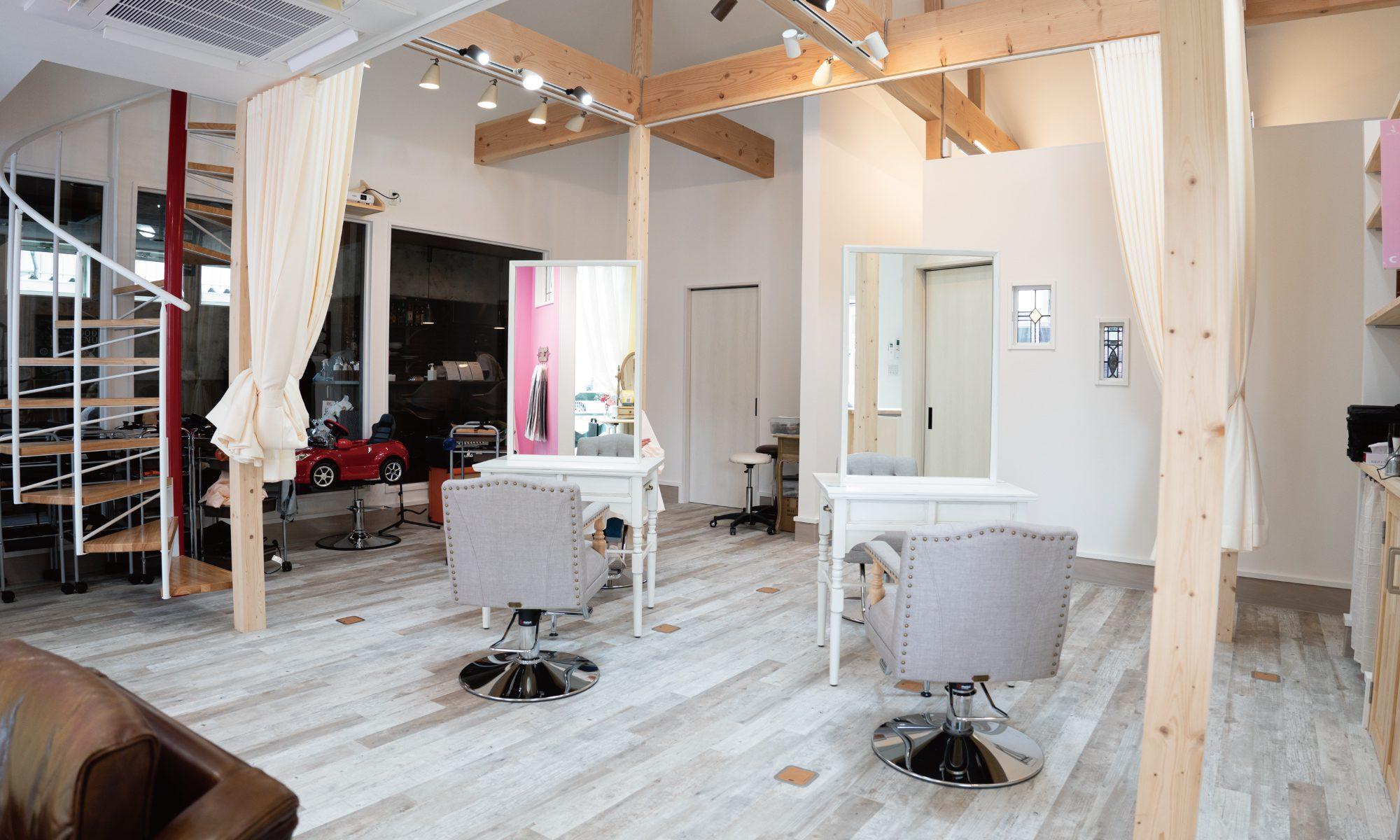 泉駅前美容室「ディレーヴ」SUNO Hairdresser's De Reve